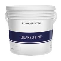 Pittura acrilica per facciate Quarzo Fine bianco 14 L