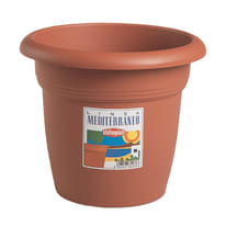 Vaso Mediterraneo in plastica H 48 cm, Ø 65 cm