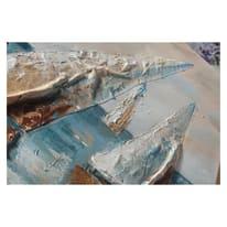 Quadro dipinto a mano Vele 90x60 cm