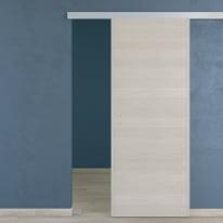 Porta scorrevole con binario esterno One in microtek L 90 x H 210 cm