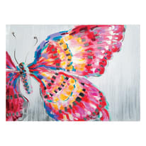 Quadro dipinto a mano Butterfly 120x90 cm