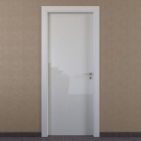 Porta a battente Massaua White bianco L 60 x H 210 cm sinistra