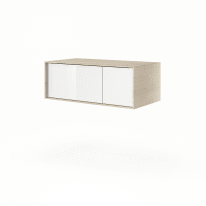 Base Neo Frame 1 cassetto 1 anta L 90 x P 48 x H 33 cm rovere chiaro legno ed effetto legno SENSEA