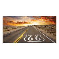 Quadro su tela Route 80x180 cm