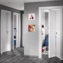 Porta pieghevole Prado bianco L 70 x H 210 cm sinistra