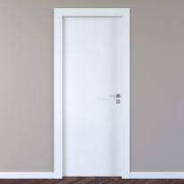 Porta a battente per hotel Radisson Oak bianco L 80 x H 210 cm sinistra