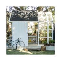 Casetta da giardino in legno Serra Vertigo 6.3 m² spessore 28 mm