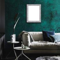 Cornice INSPIRE Brilla argento per foto da 70X100 cm