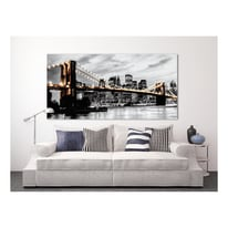 Quadro su tela Brooklyn Lights 190x90 cm