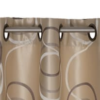 Tenda Rondine beige occhielli 140x280 cm