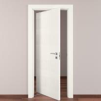 Porta rototraslante Fence bianco L 70 x H 210 cm sinistra