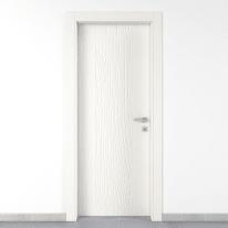 Porta a battente Wood bianco L 90 x H 210 cm sinistra
