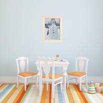 Cornice Carina grigio per foto da 50X70 cm