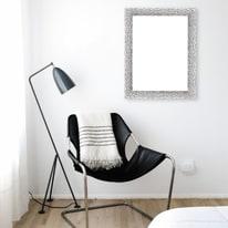 Cornice INSPIRE London argento per foto da 50X70 cm