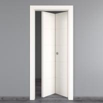 Porta pieghevole Prado bianco L 70 x H 210 cm destra
