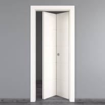 Porta pieghevole Prado bianco L 80 x H 210 cm destra