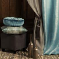 Tenda INSPIRE Diamant grigio occhielli 140x280 cm