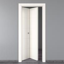 Porta pieghevole Prado bianco L 80 x H 210 cm sinistra