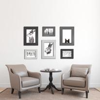Cornice INSPIRE LAILA nero per foto da 21x29,7 cm