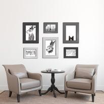 Cornice INSPIRE LAILA nero per foto da 60x80 cm