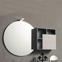 Specchio non luminoso bagno rotondo Share Ø 79 cm