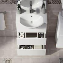 Mobile bagno Elise bianco L 60 cm