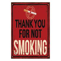 Quadro su tela Smoking 24x35 cm