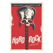 Quadro su tela Hard Rock 24x35 cm