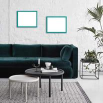 Cornice INSPIRE Vik blu baltico per foto da 21X29,7 cm