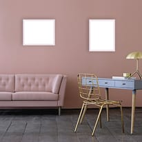 Cornice INSPIRE Vik rosa per foto da 21X29,7 cm