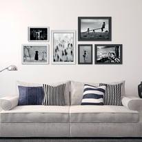 Cornice INSPIRE BOMBER bianco per foto da 50X60 cm