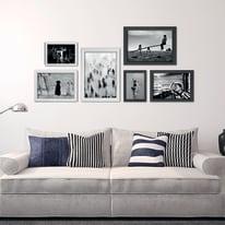 Cornice INSPIRE BOMBER bianco per foto da 40X60 cm