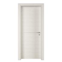 Porta a battente Hollow bianco matrix L 60 x H 210 cm sinistra