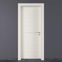 Porta a battente Hollow bianco matrix L 80 x H 210 cm sinistra