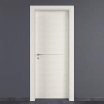 Porta a battente Hollow bianco matrix L 60 x H 210 cm destra