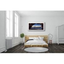 Quadro su tela Finestra 76x136 cm