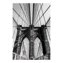 Quadro su tela Brooklyn Bridge 135x85 cm