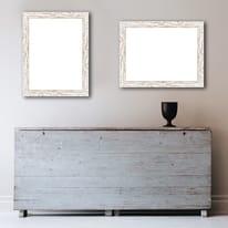Cornice INSPIRE Gaia 35 bianco per foto da 35X50 cm