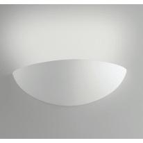 Applique Moritz bianco, in gesso, 10.5x31 cm, E27 MAX28W IP20