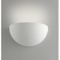 Applique gesso Moritz-s bianco, in calcestruzzo, 9.5x25 cm, E27 MAX28W IP20