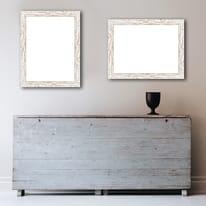 Cornice INSPIRE Gaia 35 bianco per foto da 70X100 cm