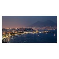 Quadro su tela Golfo Di Napoli 90x190 cm