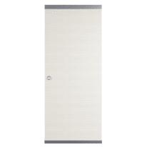 Porta scorrevole con binario esterno Star Easy in legno laccato Binario nascosto L 91 x H 221 cm