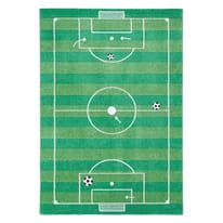 Tappeto Calcio kids verde 170x115 cm