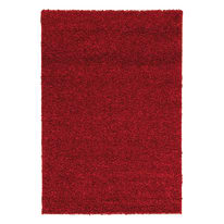 Tappeto Curly tender rosso 110x60 cm