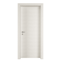Porta a battente Star bianco matrix L 80 x H 210 cm reversibile