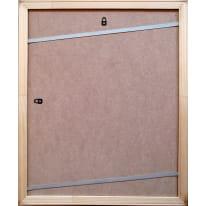 Cornice Fabriano noce per foto da 40x50 cm