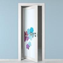 Porta rototraslante Eden larice bianco L 70 x H 210 cm sinistra