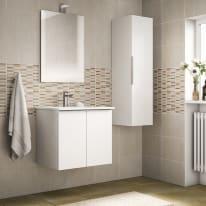 Mobile bagno Essential bianco L 60 cm