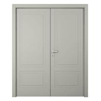 Porta a battente Nakano 2 Ante grigio L 180 x H 210 cm destra